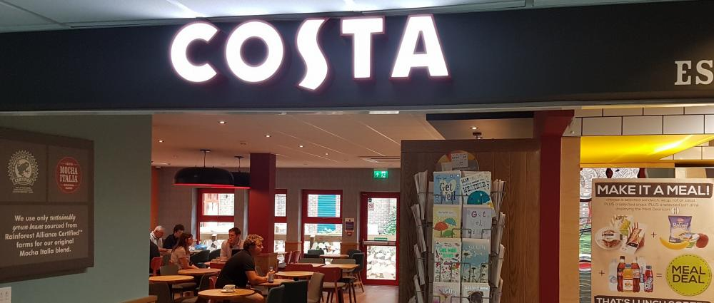 Costa coffee in hospitals assure building control - Costa coffee head office telephone number ...
